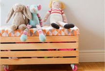 Home: Kid Decor and Room Hacks / For the kiddo / by J.J. Johnson