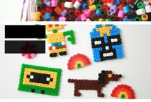 Create: Plastic! Perler Beads, Hama Beads, Pony Beads, Shrinky Dinks, Fuse Beads, Bottle Caps / Craft and DIY fun with melty plastic - Perler beads, pony beads, plastic beads, fuse beads, shrinky dinks / by J.J. Johnson