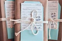 Wedding favors + welcome packs