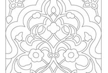 to color / Coloring sheets to print and color.