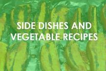 Side Dishes and Vegetable Recipes / Recipes for side dishes and vegetables.