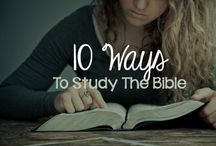 Bible Study / by Haleigh Wells