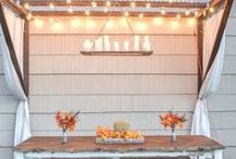 Outdoor Living / Amazing ideas for the front porch, backyard design, diy garden ideas. outdoor setting and deck furniture with diy backyard projects and amazing outdoor spaces.