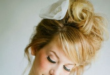 Hairstyles and Makeup I Like / This is a board of style ideas for those who need some inspiration on what to do with their hair. / by Autumn Lindsey