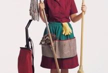 Cleaning / by Stephanie Kucharo