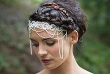 Bridal Head pieces / Hand made bridal millinery from www.hollyyoungboutique.com