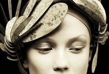 Headwear inspiration / Elegant hats, colourful headwear, sculptural accessories & opulent shapes.