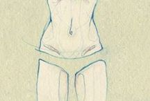 Art: The figure / The human body. Figure drawing and painting, portraits, studies