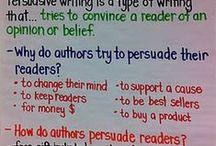 Persuasive/Opinion Writing