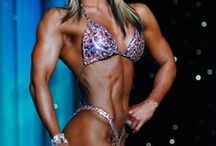 Body Building / Figure Competition, Female body building, posing
