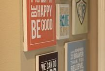 DIY and CRAFTS / A lot of cute DIY ideas for the home.
