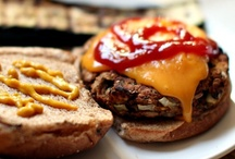 FOOD: Veggie Burgers / Vegetarian Burgers & Patties, on a bun, in a pita, or on their own / by Linda M