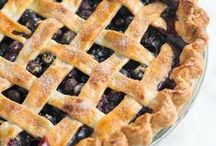 Pies, Tarts + Cobblers / The most delicious pie recipes, tart recipes and cobblers from around the web.