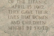 The Saved And The Lost Of The Titanic / By The Grace Of GOD Went They / by Craig Hewitt
