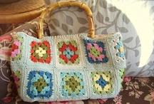 Bags: Knit/Crochet / by Cara Wolf-Vaughn