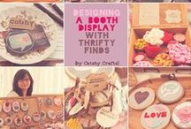 Craft Fair Booths / Craft Fair Booth Inspiration | Craft Show Booths