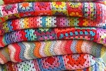 Afghans/Blankets / by Cara Wolf-Vaughn