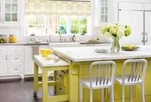 Inspired Kitchens / Inspiration for kitchen design, decor and what to buy to make your kitchen space better.