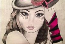 My art :) ^_^  / by DeeAnna Patnaude