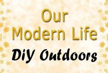 DIY Outdoors / Our Modern Life - Outdoor Furniture You Can Make