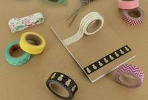 ⬛ MASKING TAPE ❌ / Masking tape is fantastic ! Just put it everywhere you can ! Especially good for scrapbooking, decoration, and everything.  Découvrez notre belle gamme de masking tape ICI : http://www.creavea.com/masking-tape_boutique-loisirs-creatifs_360.html #creavea