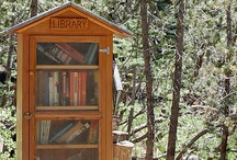 "BOOKS | Little Libraries / ""In the houses of the humble, a little library, in my opinion, is a most precious possession.""  ~ John Bright / by Larynda McKay"