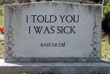 Famous Last Words / by Christine Beaverson