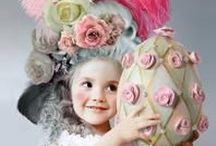 ► PAQUES et Cocottes◄ / Idées et tutoriels de décoration d'oeufs de Pâques et décoration de table. Lapins, chocolats, poules et cloches ! #creavea