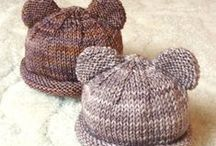 Baby Hats/Mittens/Headbands & Scarves / Patterns for infants, babies, and children's hats, bonnets,  headbands, mittens and scarves.  / by Chris