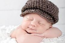 Baby Photo Shoot Outfits / Cute hats, cocoons, and props for photo shoots / by Chris
