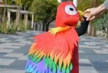 ► CARNAVAL et MARDI GRAS ◄ Deguisements et maquillages / Faites le plein d'idées créatives pour toutes les fêtes comme le Mardi Gras, les kermesses et Carnaval en tous genres !  Retrouvez tous nos DIY & TUTOS déguisements ICI : http://www.creavea.com/modele-conseils-carnaval-mardi-gras,68.html #creavea