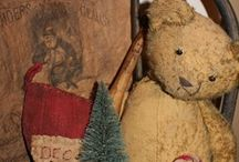 Christmas Santas & Teddies / Ideas for decorating with Santas and Teddies for the holidays. / by Chris