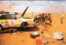 Rally Cars - WRC, Africa and Group B. / Rally cars - Group B, Safari rallies in Kenya, Ivory Coast, and some Paris Dakar