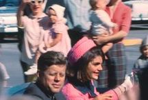 JFK / Car-themed pics from 22 November 1963, Dallas. Also others of JFK and the Kennedys', and their cars, before and after that day.