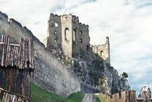 Beckov Castle, Slovakia / Beckov Castle is situated in village Beckov, Trencin region, western Slovakia. This castle is one of the most famous castle ruins. It is opened for public and it is definitely worth a visit.