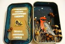 ART: Altoid Tins & Boxes / Collection of art work by others that I like.