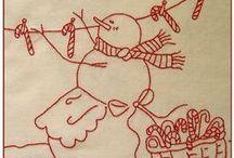 Christmas Needlework / by Chris