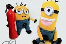 DIY Minions / Découvrez notre sélection d'idées créatives spécialement dédiées aux Minions ! Ces adorables petits personnages jaunes peuvent être réalisés avec différentes techniques créatives. De quoi ravir les petits comme les grands ! :)