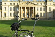 Architectural Bromptoneer / Using the Brompton for my architectural travails
