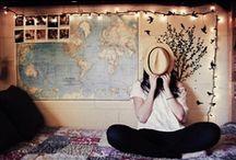 Dorm/Apartment Ideas / by Emily Williams