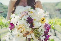 Wedding Flowers / Colourful Wedding Flower Inspiration