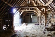 Traditional Farm Buildings / Old barns, dovecotes, stables and cowsheds. Decayed buildings, renovated barns and spaces within.