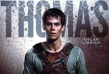 [BOOK TO FILM] The Maze Runner / Books, DVDs, etc. I own pertaining to The Maze Runner.