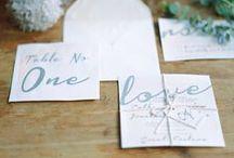 Wedding Invites / Gorgeous Wedding Invite Design Ideas.