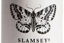 Butterflies and Bees / Butterflies, bees and insects. Inspiration for Slamseys Gin labels and screen printing and textile print workshops.