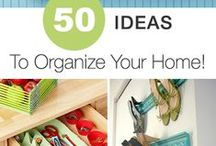 Home Ideas / Cool projects and hacks for around the house. Some to try, and some just to dream about. / by Angie | RealLifeAtHome.com