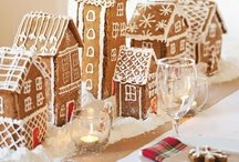 gingerbread house / by Sarah Jane Marchant