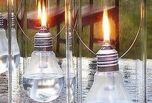 home - lights / candle & electricals for home & party / by Reema Olive
