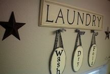 home - laundry room / by Reema Olive