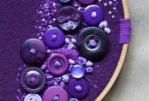 sewing ♥ buttons / buttons are in many shapes & can be use in many ways